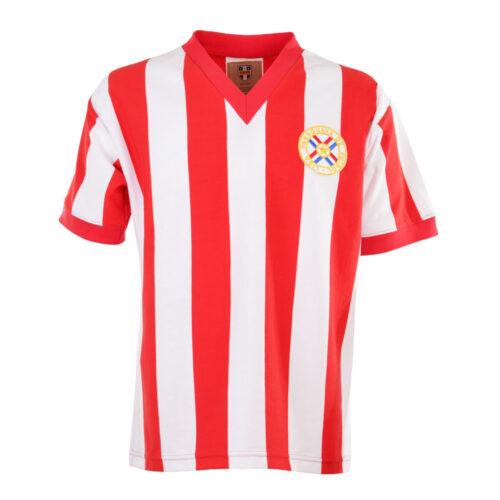 Paraguay 1979 Camiseta Retro Fútbol