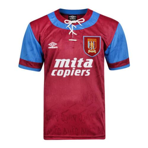 Aston Villa 1992-93 Camiseta Retro Fútbol