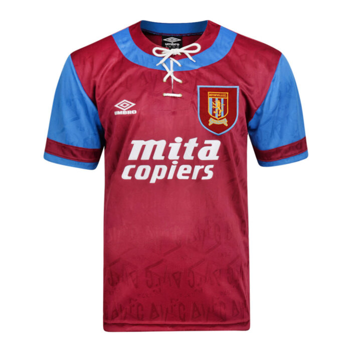Aston Villa 1992-93 Retro Football Shirt