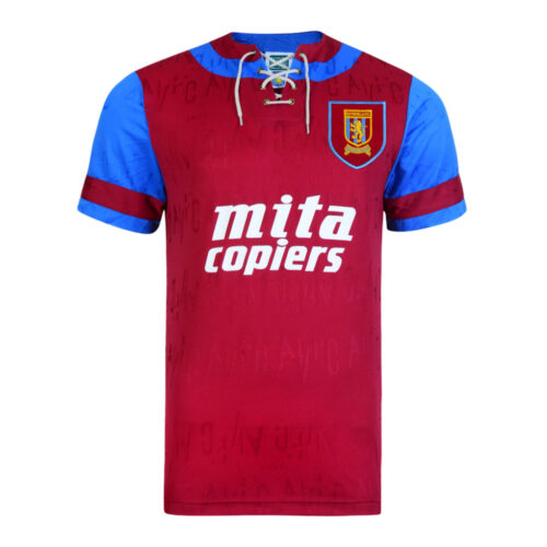 Aston Villa 1992-93 Maglia Storica Calcio