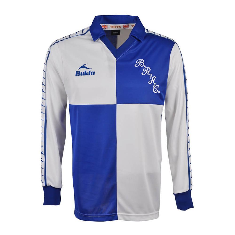 Bristol Rovers 1979-80 Maglia Storica Calcio