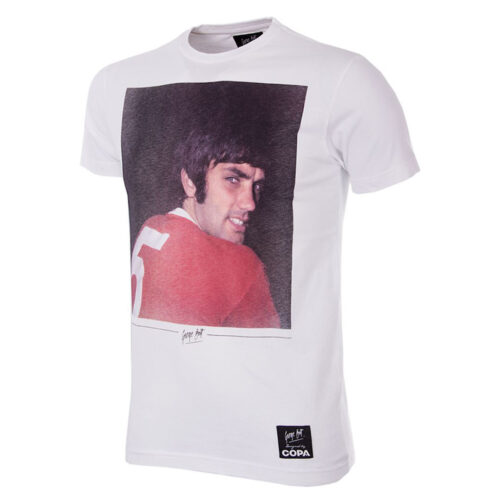George Best Old Trafford Camiseta Casual