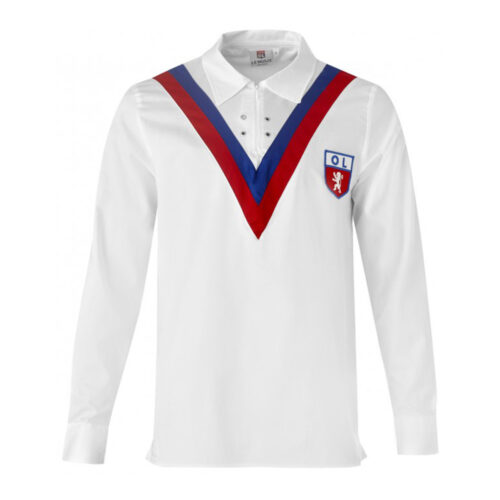 Olympique Lyon 1956-57 Retro Football Shirt