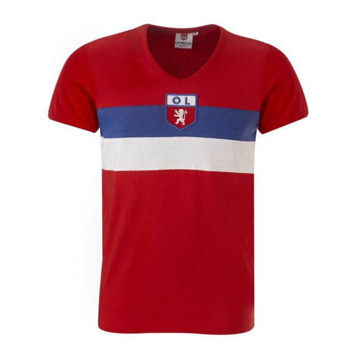 Olympique Lione 1964-65 Maglia Storica Calcio