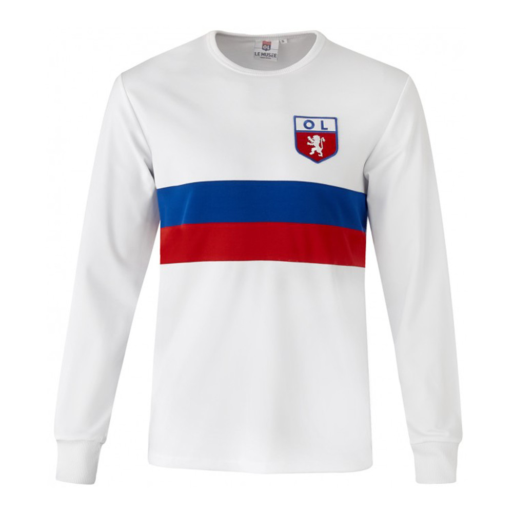 Olympique Lyon 1966-67 Retro Football Shirt