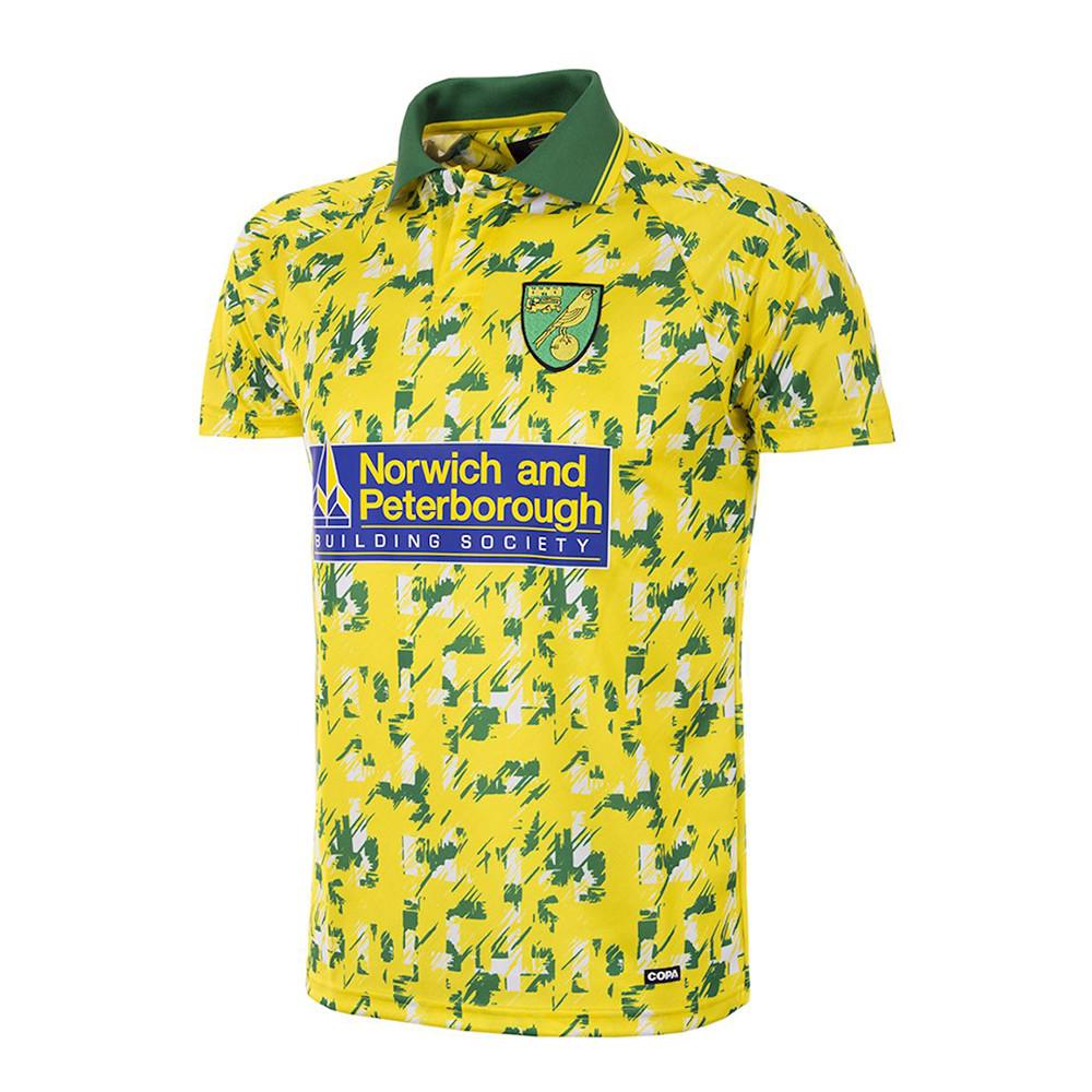 Norwich City 1992-93 Maglia Storica Calcio