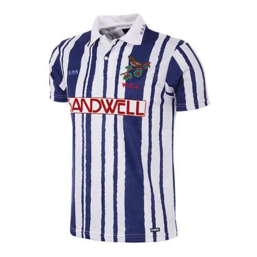 West Bromwich Albion 1992-93 Camiseta Retro