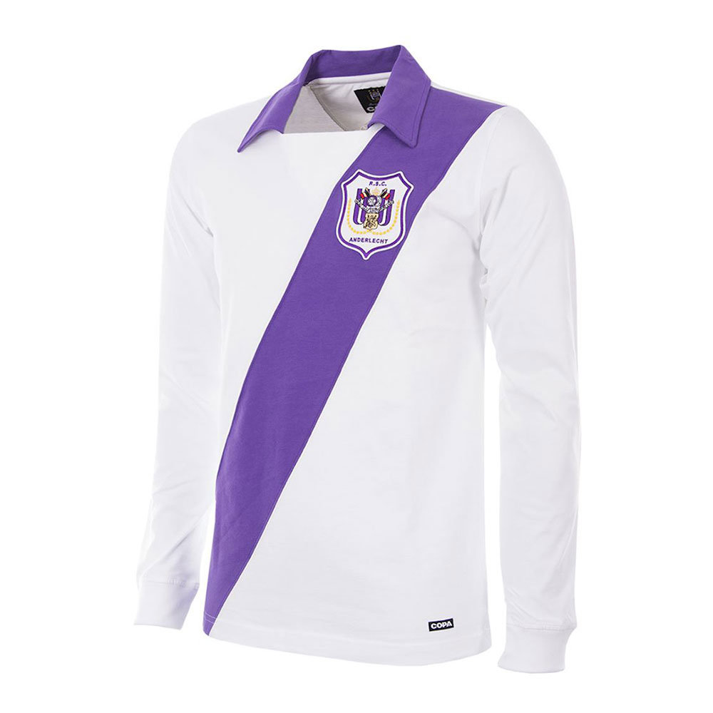 Anderlecht 1962-63 Maillot Rétro Foot