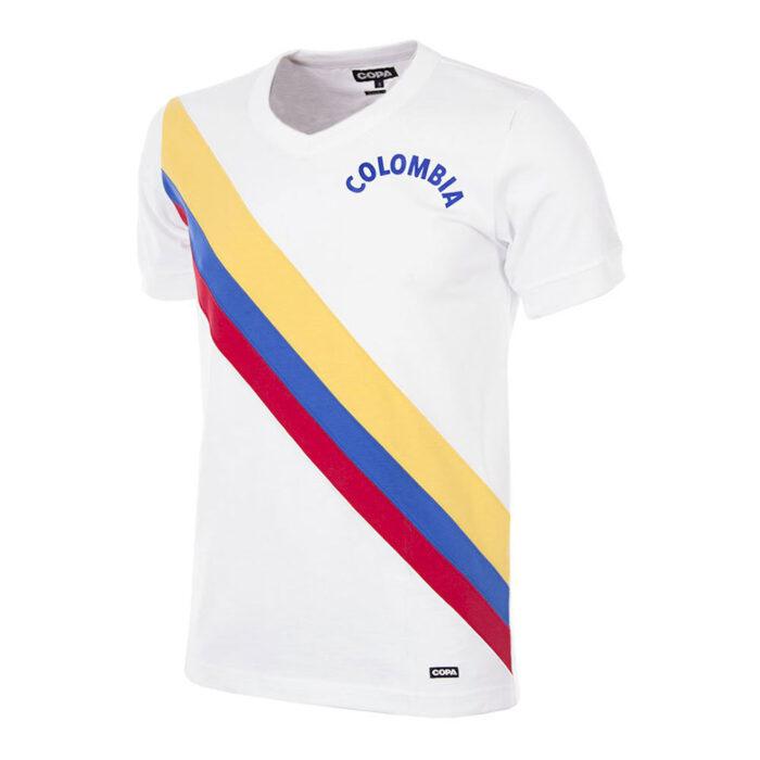 Colombia 1973 Maglia Calcio Storica