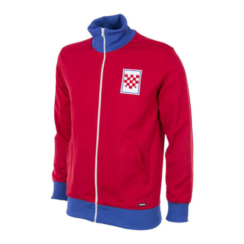 Croatia 1990 Retro Football Track Top