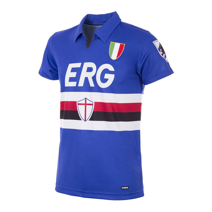 Sampdoria 1991-92 Retro Football Shirt