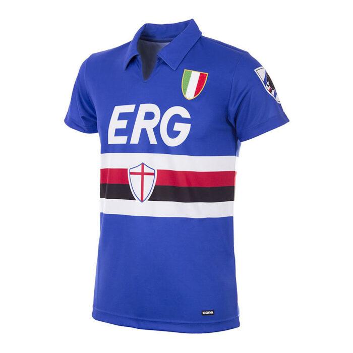 Sampdoria 1991-92 Maglia Storica Calcio
