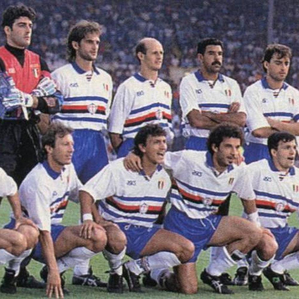 c66683e0cfb316 Sampdoria 1991-92 Maglia Calcio Storica   Retro Football Club ®