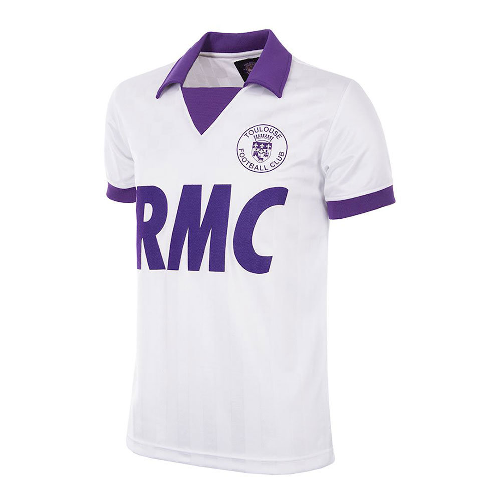 Toulouse 1986-87 Retro Football Shirt