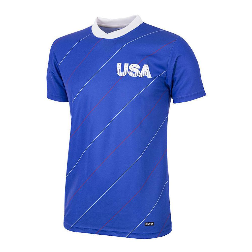 Estados Unidos 1984 Camiseta Retro Fútbol