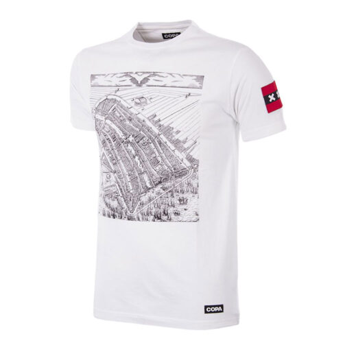 Copa Amsterdam City Map Casual T-shirt