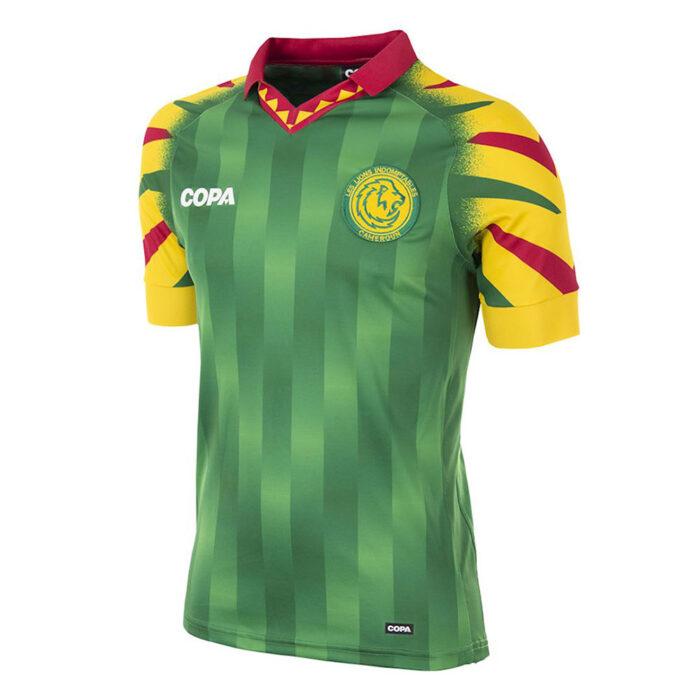 Copa Camerún Camiseta Fútbol