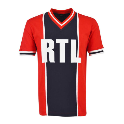 Paris Saint Germain 1976-77 Camiseta Fútbol Retro