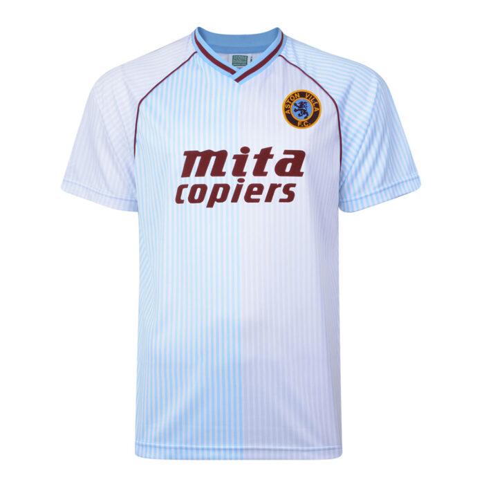 Aston Villa 1988-89 Maglia Calcio Storica