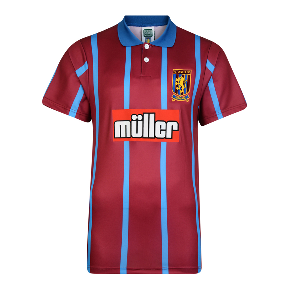 Aston Villa 1994-95 Retro Football Shirt