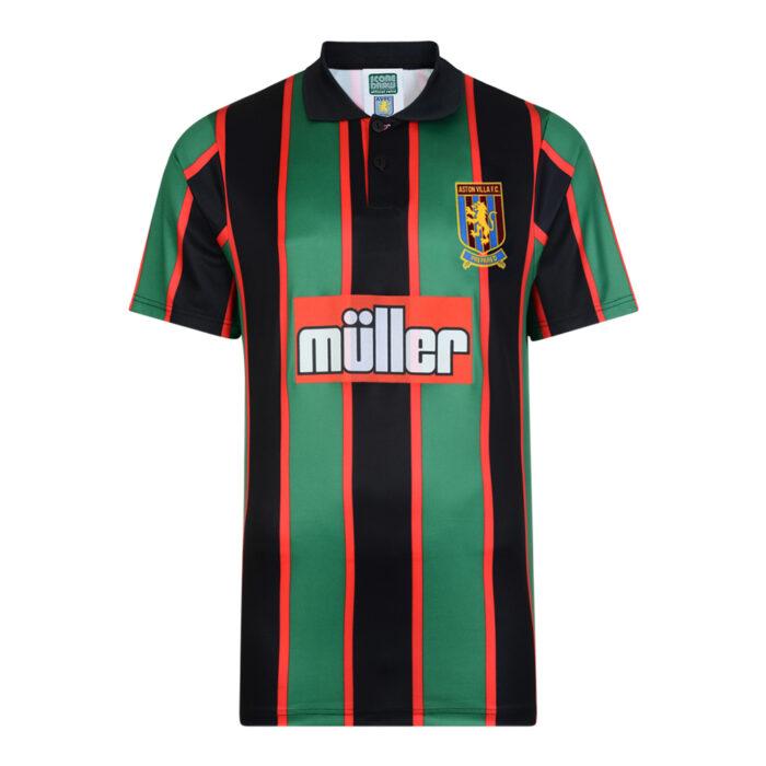 Aston Villa 1994-95 Maglia Calcio Storica