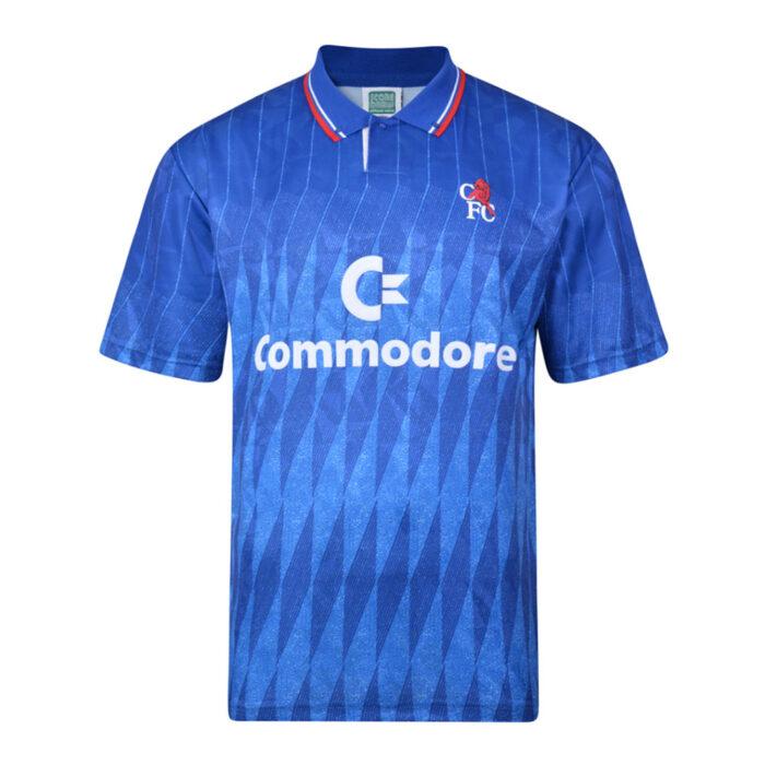 Chelsea 1990-91 Camiseta Retro Fútbol