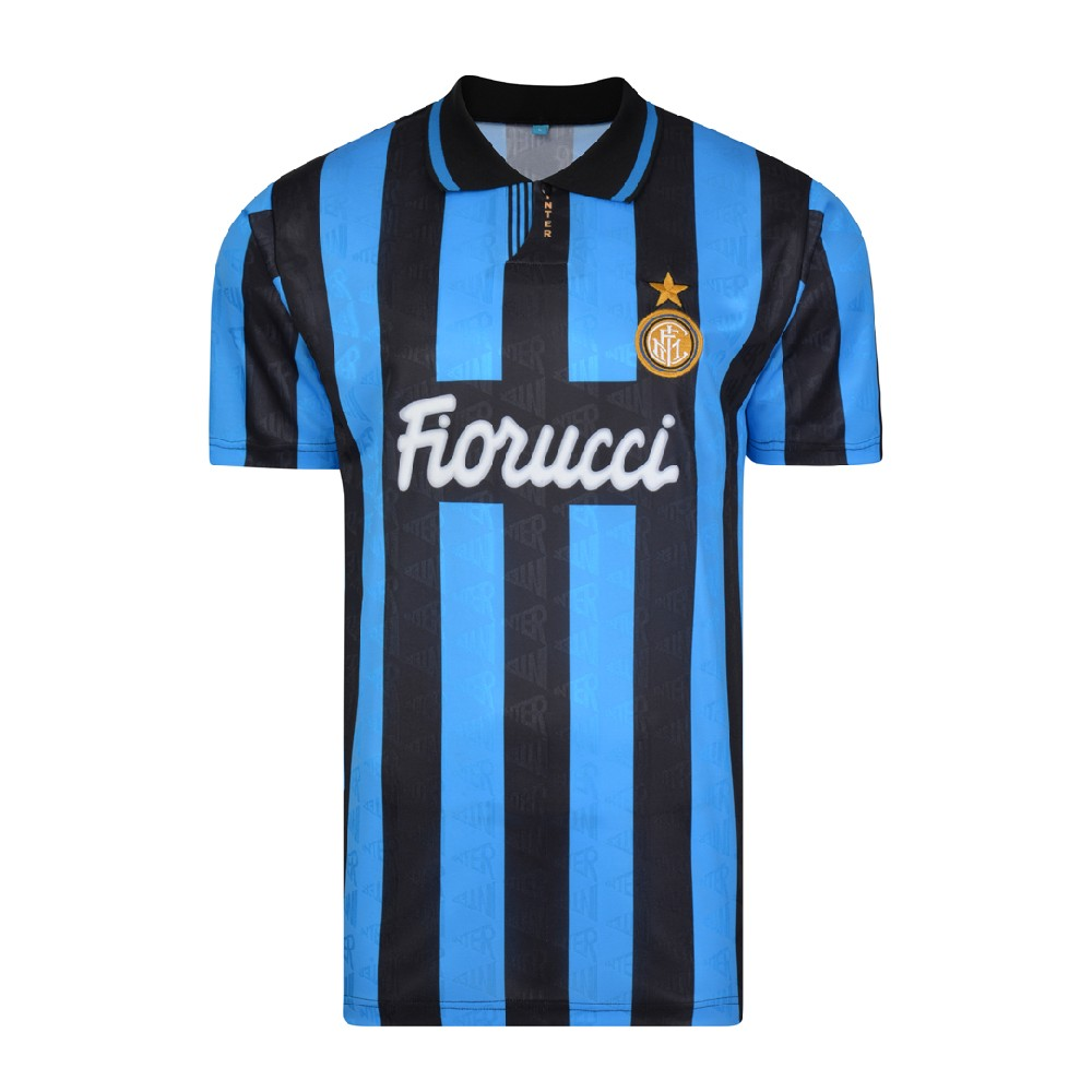Inter 1992-93 Retro Football Shirt