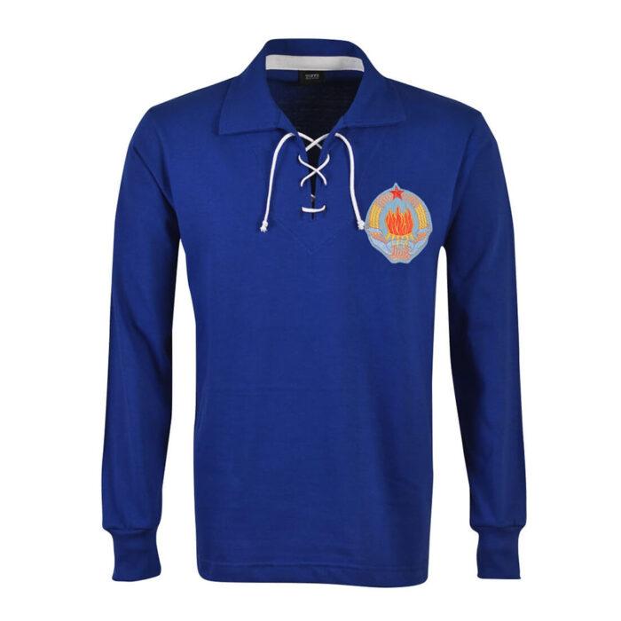 Yugoslavia 1962 Camiseta Retro Fútbol