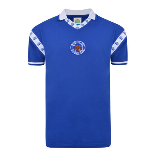 Leicester City 1976-77 Maillot Rétro Foot