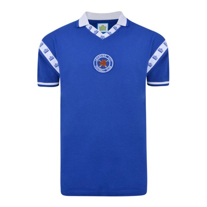 Leicester City 1976-77 Maglia Storica Calcio