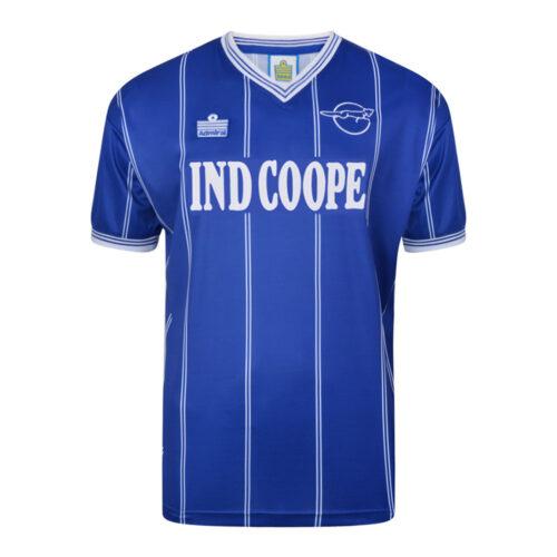 Leicester City 1983-84 Retro Football Shirt