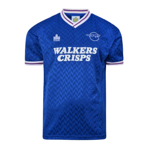 Leicester City 1987-88 Maillot Rétro Foot