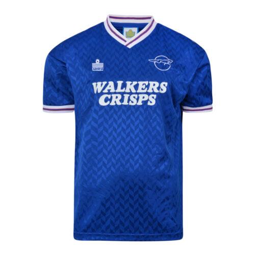 Leicester City 1987-88 Retro Football Shirt