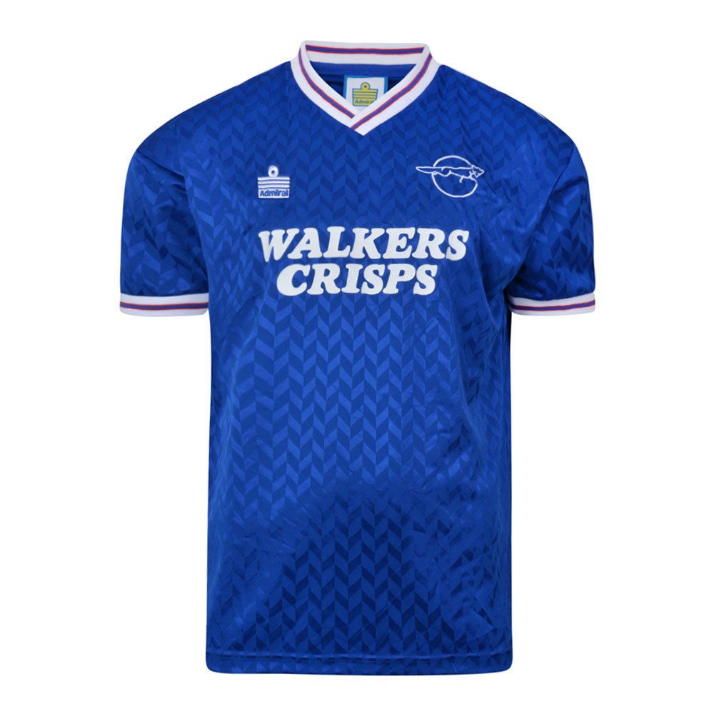 Leicester City 1987-88 Retro Football Shirt