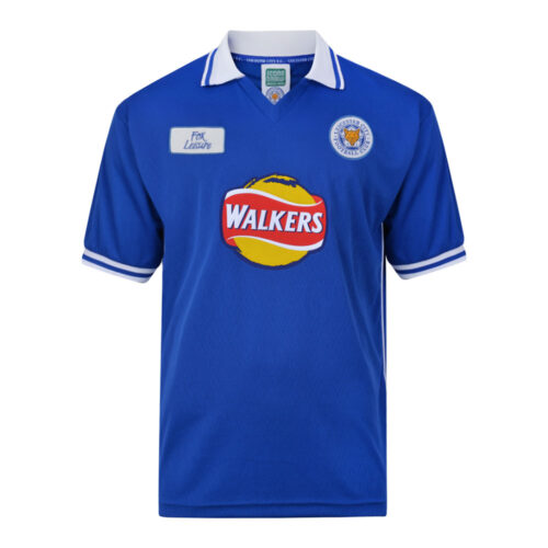 Leicester City 1999-00 Camiseta Retro Fútbol