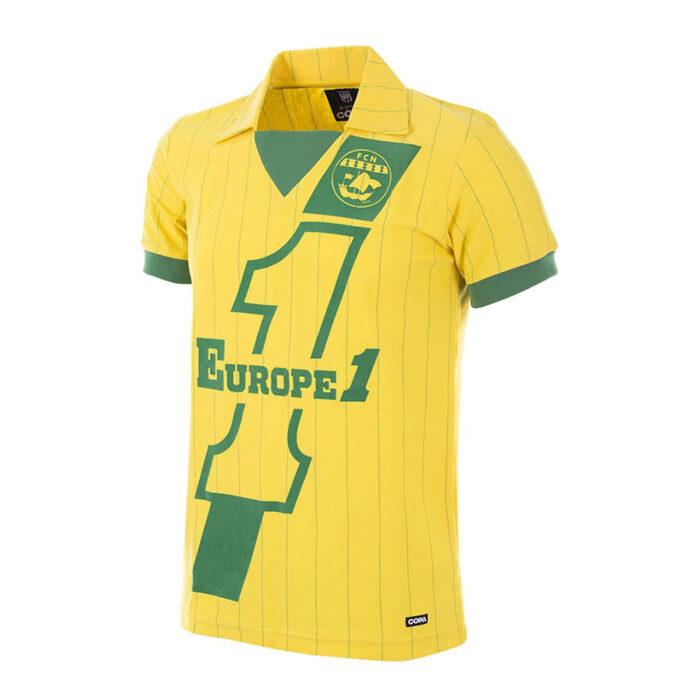 Nantes 1981-82 Camiseta Retro Fútbol