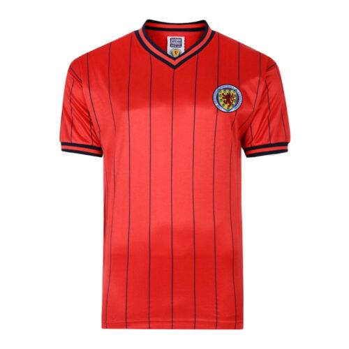 Escocia 1984 Camiseta Fútbol Retro