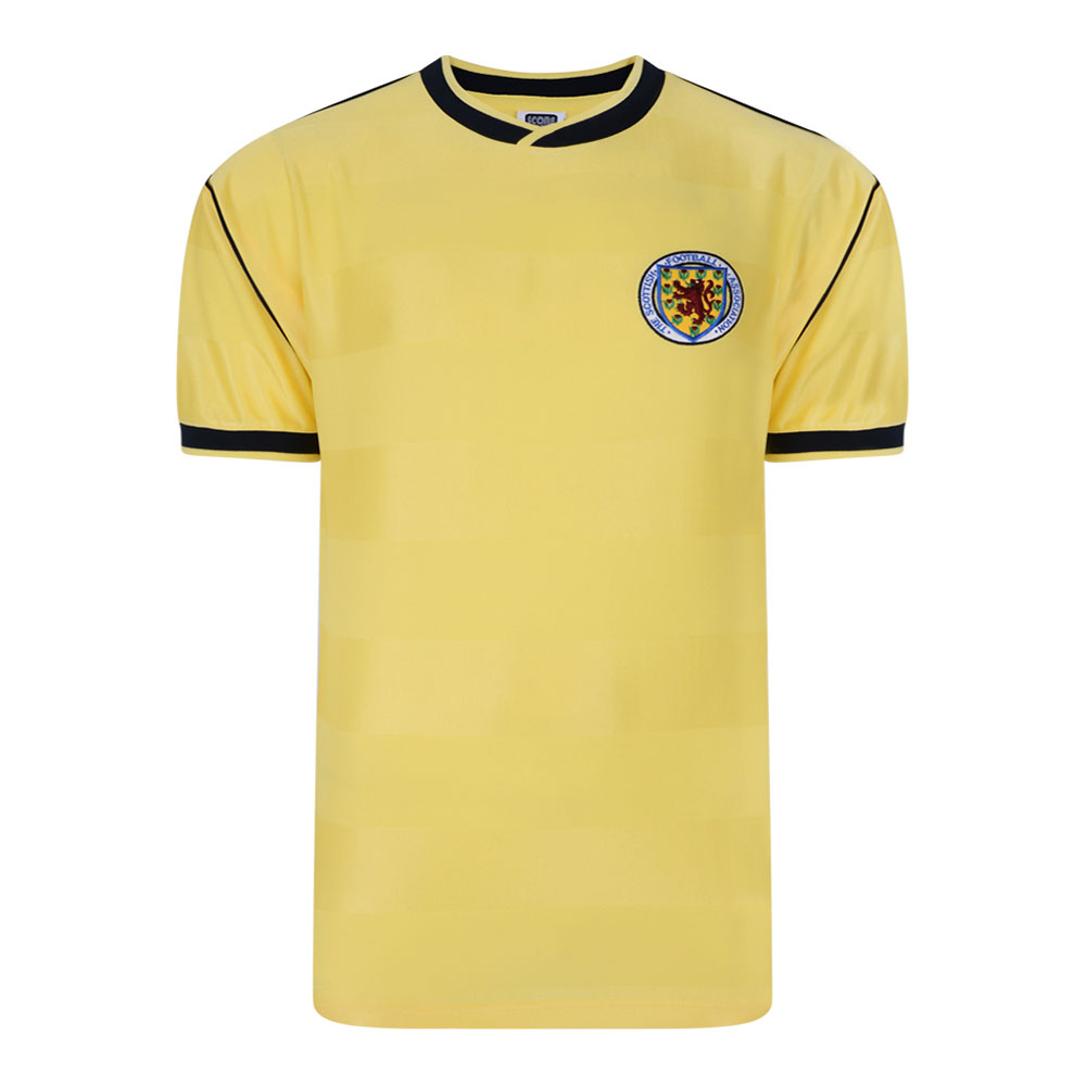 Scotland 1986 Retro Football Jersey