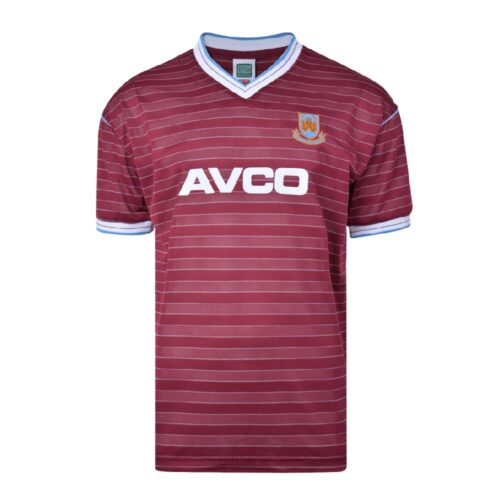 West Ham United 1985-86 Retro Shirt Football