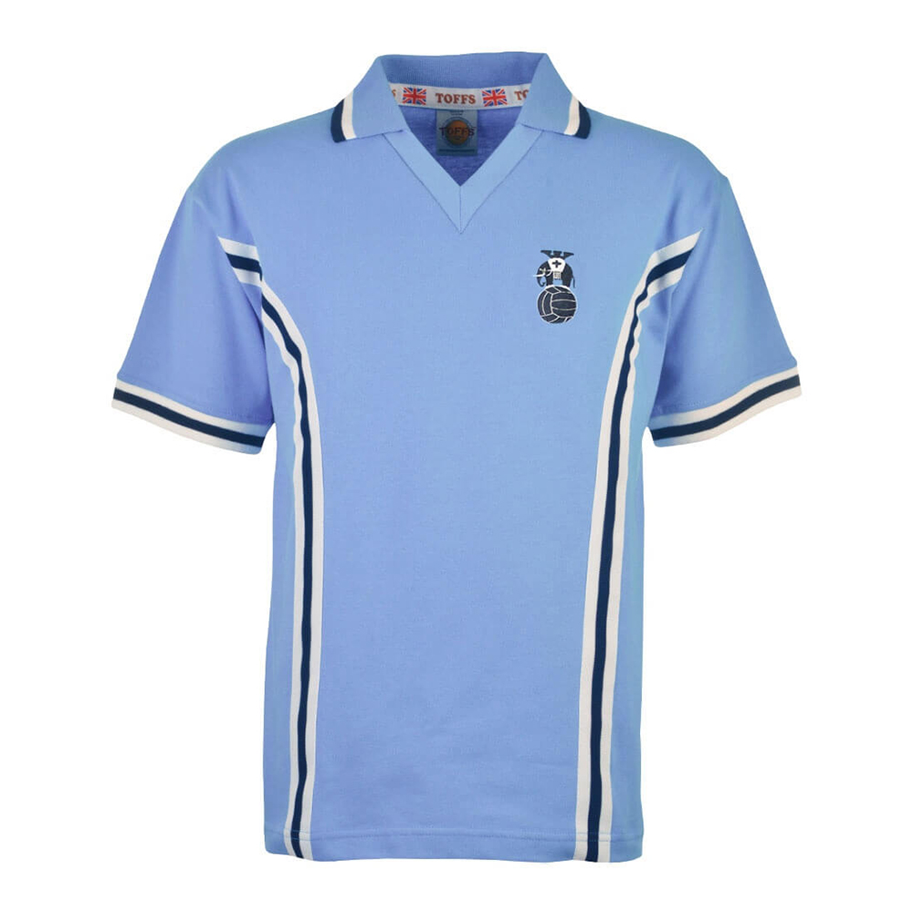 Coventry City 1977-78 Retro Football Shirt