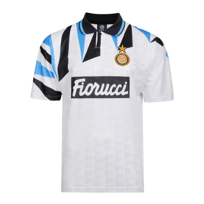Inter 1992-93 Retro Football Jersey