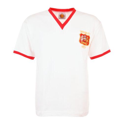 Manchester United 1956-57 Camiseta Retro Fútbol