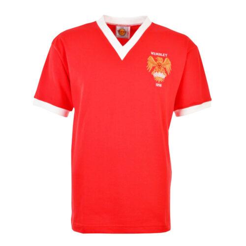 Manchester United 1957-58 Maglia Storica Calcio
