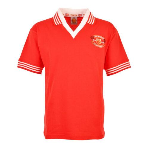 Manchester United 1978-79 Camiseta Retro Fútbol