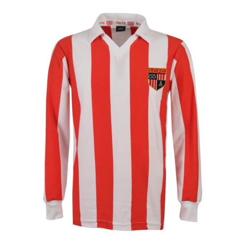 Stoke City 1977-78 Camiseta Retro Fútbol