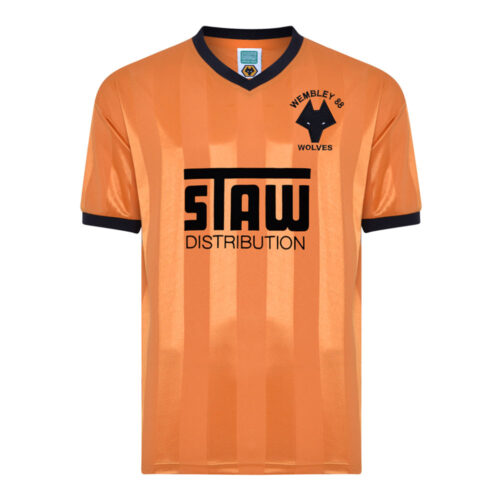 Wolverhampton Wanderers 1987-88 Maillot Rétro Foot