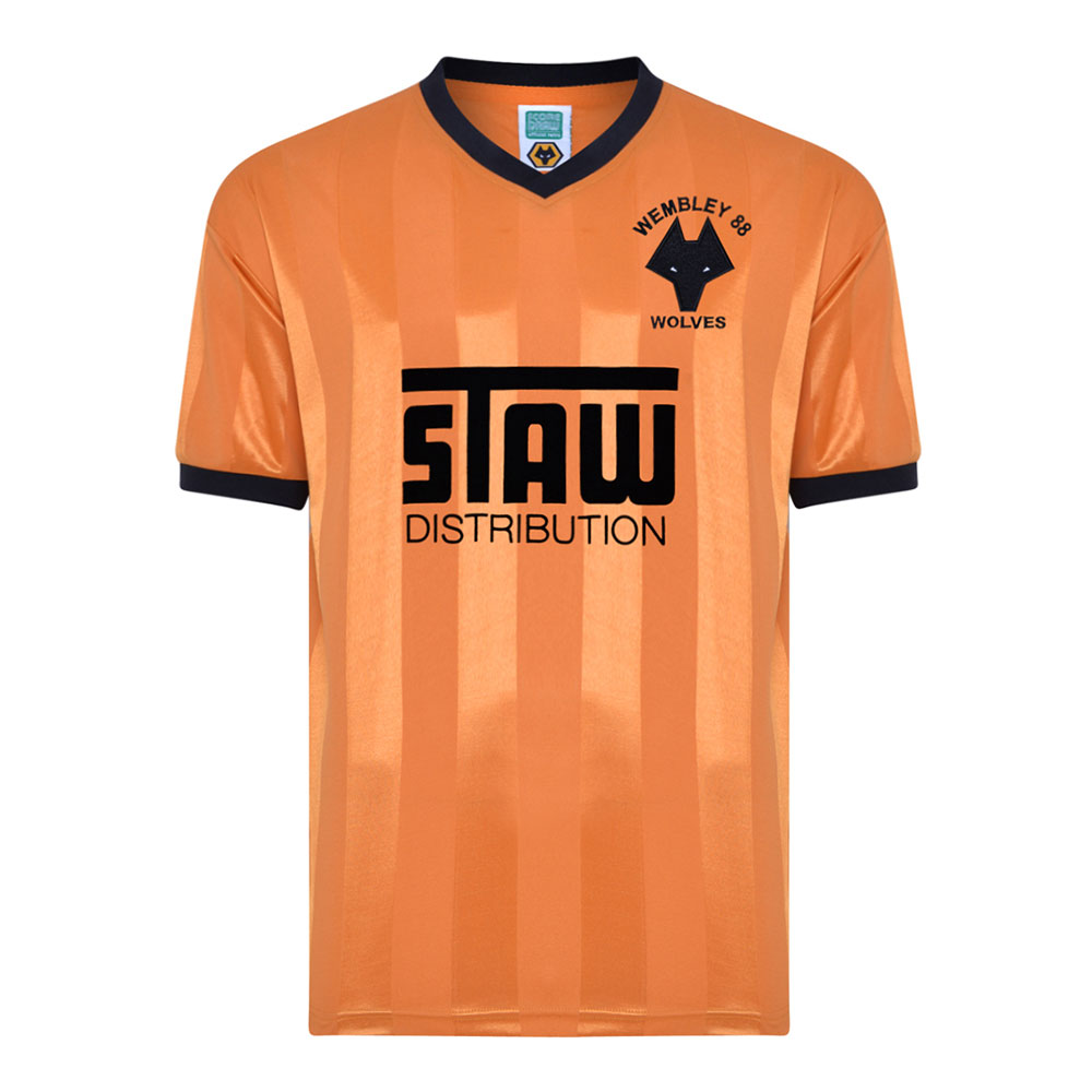 Wolverhampton Wanderers 1987-88 Retro Football Shirt