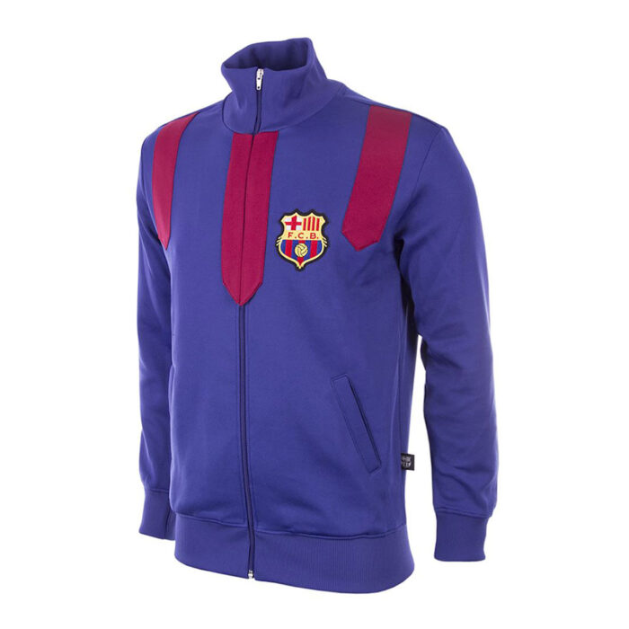 Barcelona 1958-59 Retro Football Track Top