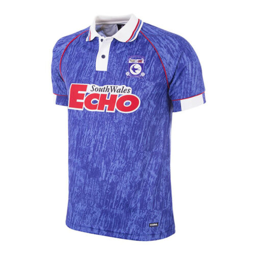Cardiff City 1992-93 Retro Football Shirt