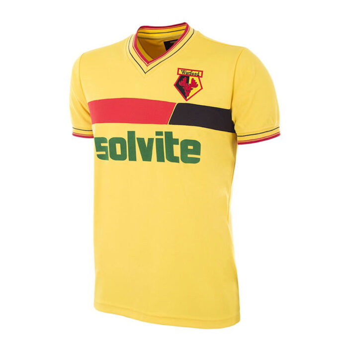 Watford 1986-87 Maglia Storica Calcio